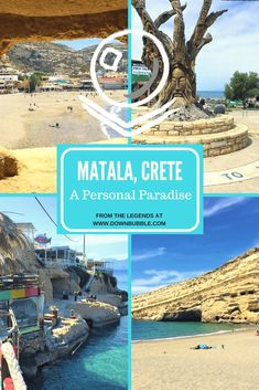 You may not have heard of Matala in Crete, Greece: a pedestrian-only beach paradise boasting crystal clear waters, hippy culture, history and more! Read our travel guide and escape to one of our personal paradises! Be sure to read them all on the website: www.downbubble.com via @downbubbletravels