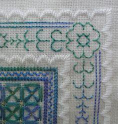 satin stitch | Quieter Moments