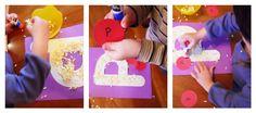 Letter P activities for Preschoolers via Little Wonders' Days;  P is for Pizza