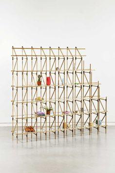Listones de madera, placas de acero y cristal » Blog del Diseño