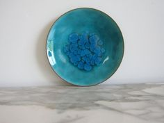 Mid Century Enamel and Copper Dish  Bovaro by 20thCenturyGoods, $26.00