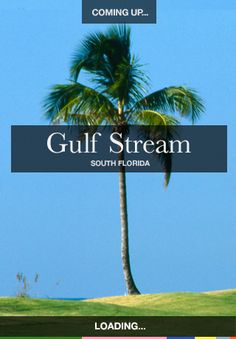 Gulf Stream: A cultural and sporting destination, Gulf Stream offers residents' convenient access to the town's Atlantic Ocean backdrop. Golf courses, tennis courts and deep-sea fishing opportunities are abundant. A small town of only 690 residents. #Delray #DelrayBeach #PalmBeach #ThingsToDoInDelrayBeach #DelrayBeachAttractions