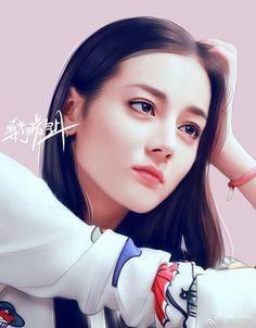 Cute Girl Drawing, Cartoon Girl Drawing, Girl Cartoon, Sexy Asian Girls, Beautiful Asian Girls, Gfriend Yuju, Painting Of Girl, Fan Art, Beautiful Person