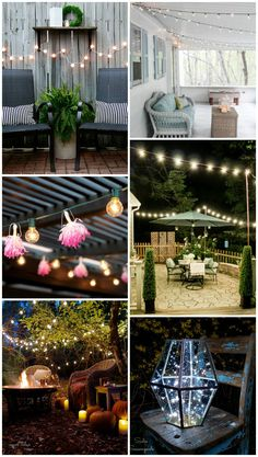 11 Brilliant Outdoor Lighting Ideas - The Ugly Duckling House