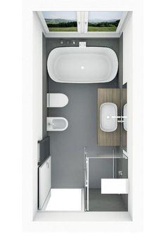 Badplanung mit freistehender Badewanne mit Ablage Bathroom planning with free-standing bathtub with Bathroom With Shower And Bath, Zen Bathroom Decor, Bathroom Plans, Bathroom Interior Design, Bathroom Renovations, Modern Bathroom, Bathroom Ideas, Bathroom Organization, Industrial Bathroom