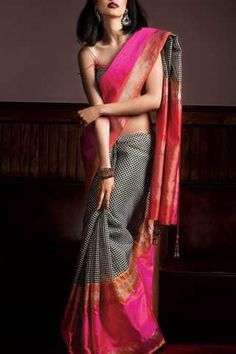 The Largest Online Indian ethnic wear store for women - Sarees, Salwar Suits. Soft Silk Sarees, Cotton Saree, Indian Attire, Indian Ethnic Wear, Indian Style, Ethnic Fashion, Indian Fashion, Saree Fashion, Indian Dresses