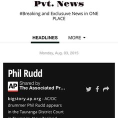 Pvt. News  http://ift.tt/1CeNjph #PvtNews Or Google #PvtNews