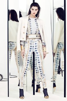 Balmain Resort 2014 Collection Slideshow on Style.com