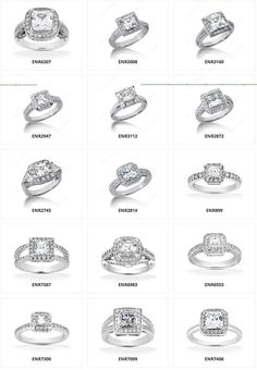 Princess Cut Diamond Engagement Rings With Halo 35