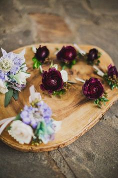 Beautiful personal flowers. Vintage Farm Wedding for Air Force Couple at Cedarwood | Cedarwood Weddings