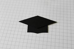 Julie B's Stampin' Space: Making a Graduation Cap from Scraps and Punches