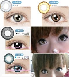 New Anime Contact Lenses
