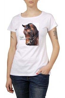 Comprar Camiseta Algodão Básica Cavalo