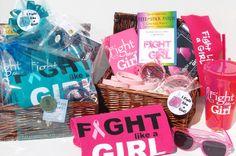 Fight Like a Girl Gift Basket