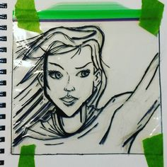 Working on Supergirl for tomorrow's sandwich bags. #sandwichbagartist #sandwichbagart #lunch #kids #lunchtime #lunchbreak #sharpie #ziploc #art #artofinstagram #draw #drawing #drawingsofinstagram #illustrator #illustration #myart #myartwork #creative #artnerd #art_community #artist_sharing  #arts_gallery #winnipegartist #winnipegart #showyourwork #winnipeg # supergirl #dccomics