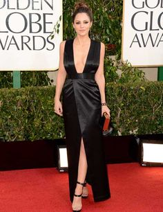 Katharine McPhee at the Golden Globes