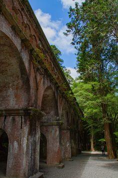 京都東山を観光、南禅寺とか水路閣とか琵琶湖疏水とか。
