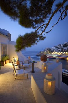 Evening in Hydra - Greece