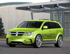Dodge Journey...Levi can we paint it this color? Minus decals?