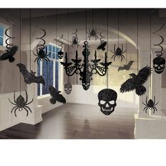 31. Easy DIY Halloween Decor : Wall Of Bats A super quick and simple paper craft to prepare, bats swarming or randomly flying over your wall is a great way to restyle your wall for Halloween and bring a freaky festive ambiance to your home almost instantly. It takes no more than about an hour …