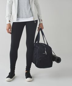 Forget packing light—this roomy duffel fits everything you need with room to spare.