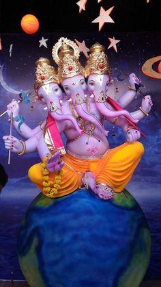 Saraswati Goddess, Durga, Hindu Tattoos, Ganesh Photo, Ganesh Chaturthi Images, Ganesh Idol, Ganesh Wallpaper, Lord Balaji, Ganesh Images