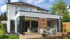 Got burning a hole in your pocket? 15 single storey rear extension ideas under House Extension Cost, Extension Veranda, Extension Designs, Roof Extension, Extension Ideas, Extension Google, Extension Costs, Bungalow Extensions, House Extensions