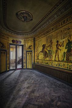 Abandoned Chateau Amon Ra - Belgium by kleiner hobbit, via Flickr