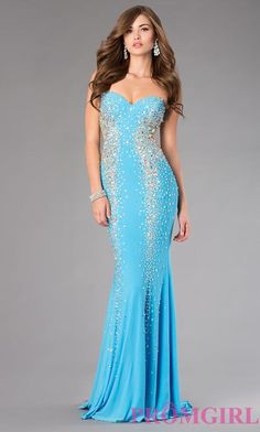Prom Dresses, Celebrity Dresses, Sexy Evening Gowns: Xcite Strapless Floor Length Prom Dress
