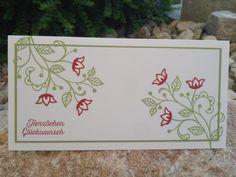 Kreative-Engelmama, Stampin´ Up!, Double Layer Card, Stempelset Blühende Worte