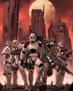 "imthenic: ""  Star Wars #23 Variant Cover by Jorge Molina Manzanero """