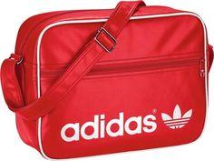 Bolsa roja adidas classic.