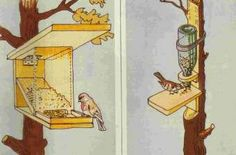 Voederhuisje Garden Animals, Diy Bird Feeder, Pet Birds, Animals Beautiful, Projects To Try, Tweety, Cats, Inspiration, Home Decor