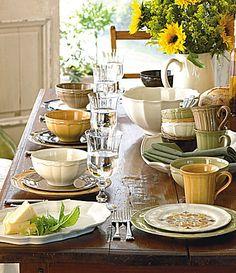 Noble Excellence Toscano Yellow Dinnerware | Dillards.com