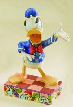 """All quacked up"" Donald Duck figure (Jim Shore)"