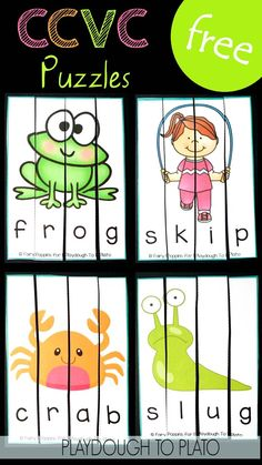 Puzzles Fun blends activity and digraph game!Fun blends activity and digraph game! Phonics Activities, Kindergarten Literacy, Early Literacy, Literacy Activities, Literacy Centers, Preschool, Free Phonics Games, Reading Activities, Writing Centers