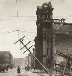 Old Picture of the Day:San Francisco 1906 Earthquake Aftermath Vintage Pictures, Old Pictures, Old Photos, Halifax Explosion, Titanic Artifacts, San Francisco Earthquake, Lost Paradise, San Francisco California, Natural Disasters