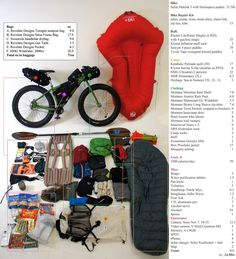 Steve Graepel's weekend bikepacking gear