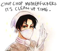SNK | Cleaning Levi