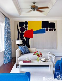 How to bring bold color into your home decor: