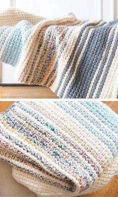 Daydream Winter Blanket free crochet pattern 1 # crochet patterns blanket Comfy and Modern Winter Blankets Tunisian Crochet Blanket, Modern Crochet Blanket, Tunisian Crochet Patterns, Modern Crochet Patterns, Crochet Stitches, Knitting Patterns, Knitting Tutorials, Afghan Patterns, Lace Patterns