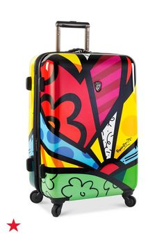 Get away in style with a bright and bold spinner suitcase from Heys. There's no mistaking this luggage when it comes down the carousel! Click to shop the entire colorful collection at Macy's.