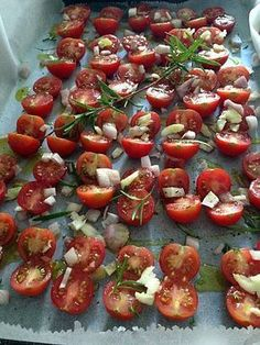 Recette de Tomates-cerise séchées maison Meringue, Chutney, Entrees, Dairy Free, Food And Drink, Lunch, Fruit, Vegetables, Cooking