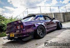 #Nissan #Skyline_R32 #Modified #WideBody #Slammed #Stance #JDM