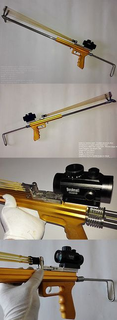Slingshots 117141: Hunting Catapult Rifle Slingshot Gun Remote Strike Competition Mechanical-Diy -> BUY IT NOW ONLY: $135 on eBay!
