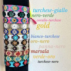Friendship bracelets with beads