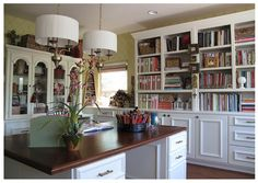 I would look forward to entering my office every day if it looked like this!