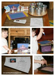 Countdown to Disney - Aladdin Family Movie Night Crafts and Recipes