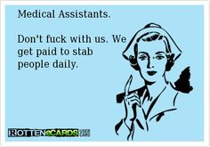New medical assistant quotes sad 20 ideas Medical Assistant Quotes, Medical Quotes, Medical Facts, Medical Humor, Nurse Humor, Funny Medical, Medical Marijuana, Medical Laboratory Science, Student Memes