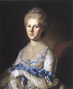 """""""Mrs Joseph Blookfield,"""" 1783, Charles Wilson Peale (1741-1827)"""